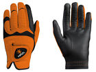 Hirzl Hybrid Plus+ Golfhandschuh Herren Farbe : orange-black Neu!