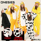 Adult Fleece Unisex Kigurumi Animal Pajamas Cosplay Costume Sleepwear AU