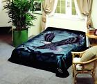 Solaron Blanket throw Thick Ultra Fine Polyester Mink Plush Eagle HeavyWeight image