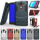 Heavy Duty Hybrid Rugged Shockproof  Case Cover Clip Holster For LG LEON C40