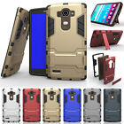 Heavy Duty Hybrid Rugged Shockproof Armor Case Cover Holster For LG Class H740