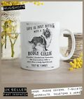 Rough Collie Dog Mug ~ Perfect Gift can be personalised ~ Vintage Style