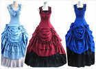Victorian Period Prom Dress Southern Belle Gown Reenactment Theater Costume