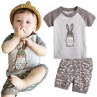 "NWT Vaenait Baby Kids Girls Boys Clothes Short Pyjama Outfit set ""Dotoro"" 12M-7T"