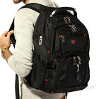 Men Women Swiss bag 15.6 Laptop Backpack Computer Notebook School Travel Bag