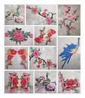 COLOURED EMBROIDERED APPLIQUES *32 DESIGNS* TRIMMING SEWING HABERDASHERY UK