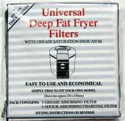 URMA UNIVERSAL FAT FRYER FILTER KIT - REPLACEMENT DELONGHI, MORPHY RICHARDS+MORE