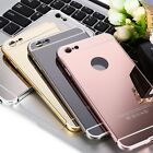 New 2 in 1 Ultra-thin Metal Frame Mirror Cover Case for iPhone 6 Plus 6s Plus