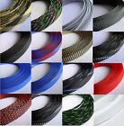 16mm x 10 Meters Expandable Braided DENSE PET Mix Color 3 weave Sleeving Cable