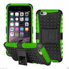 iPhone 4 / 4S Case - Shockproof Heavy Duty Armour Stand Cover + Screen Protector