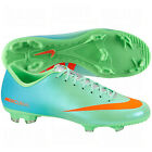 Nike Mercurial Victory IV FG 2013 Soccer SHOES New Lime Green / Blue / Orange
