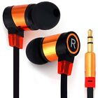 New In-ear Headset Perfect Hifi Sound Earphone Flat Wire Good Sound Insulation