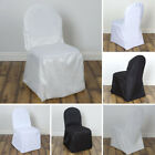 200 pcs POLYESTER BANQUET CHAIR COVERS Wedding Catering Party Decorations SALE