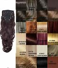 NEW WOMENS CURLY CLIP IN 8 PIECE SET WEFT HAIR EXTENSIONS KOKO UK STOCK