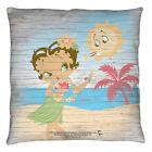 BETTY BOOP HULA BOOP DECORATIVE THROW PILLOW BEDROOM COUCH 2 SIDED $18.05 USD