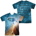 STAR TREK THE FINAL FRONTIER Licensed Sublimation Men's Graphic Tee Shirt SM-3XL on eBay