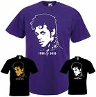 PRINCE T-Shirt Musik Memory Tribute Music Shirt Farben purple unisex bis 5XL