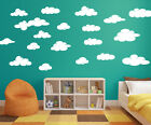 Cloud Wall Decals Pack of 20 -White Matt Finish perfect to match your decor A355