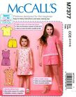 SEWING PATTERN! MAKE GIRL TOPS~DRESS~ROMPER~SHORTS! SIZE 3~6/7~14~SUMMER CLOTHES