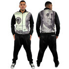 Dirty Money American 100 Dollar Bill Harem Pants Joggers West Baggy Tracksuit