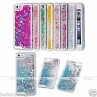 Glitter Heatr Colorful Dynamic Liquid Quicksand Hard Case Cover For iPhone 5/5s