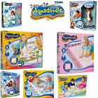 TOMY AQUADOODLE WATER DRAWING LARGE MATS / AQUA DRAW MATS - INCLUDES PEN & STAMP
