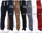 New Mens AD Designer Stretch Cuffed Jogger Jeans Chinos Pants Waist Size 28-48