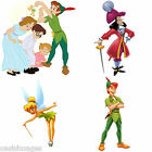 "peter Pan wendy Hook four prints each 4"" x 6""choose photos/ stickers/transfers"