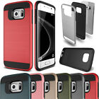 Slim Brushed Shockproof Hybrid Hard Case Cover For Samsung Galaxy A5 A7 A8 A9
