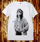 Patti Smith Hippie Style Patricia Lee Patti Smith Punk Rock U&V-Neck 2Color TEEs