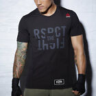 REEBOK TRAIN LIKE A FIGHTER MMA T-SHIRT Herren Sport Shirt Funktionsshirt AJ9080