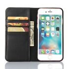 Genuine first layer top cow leather Flip cover case for iPhone 6/6S  with stand
