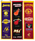 Embroidered Heritage Banner - NBA -    * Pick Your Team * on eBay