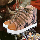 Attack on Titan flat Sneakers Casual Canvas shoes high quality free shipping
