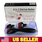 Titanium Derma Roller Drs 4 in1 Skin Care Beauty Micro-Needle US Seller Sets Kit