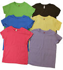 LADIES HANES JUST MY SIZE CREW NECK JERSEY TEE SHIRT SHORT SLEEVE WOMENS PLUS