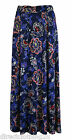 LADIES NEW Per Una M&S Marks & Spencer MAXI FLORAL SKIRT  sz 8-24 BLUE MULTI