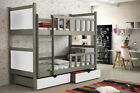 New Bunk Bed PIN1 for children boys girls with drawers FREE MATTRESSES