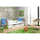 Childrens single bed White single bed FREE mattress kids bed ZONE Sticker Drawer