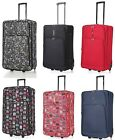 "5 Cities Large 29"" Lightweight 2 Wheel Expandable Trolley Luggage Suitcase 88L"