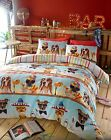 BAR DOGS Summer cocktail fun Duvet cover set, includes pillow case(s)