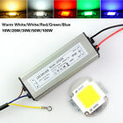 10/20/30/50/100W High Power Integrated Led Lamp Bead Chip with IP67 LED Driver