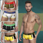 Men Cotton Underwear Breathable Boxer Briefs Shorts Bulge Pouch Soft Underpants