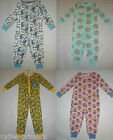 Primark Girls Or Boys Kids All In One Sleep Suit Cotton Pyjamas  Ages 2 - 9