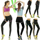 2 in 1 Women Casual Wicking Breathable Yoga Riding Running Outdoor Sports Pants