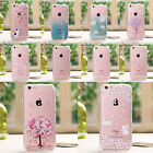 Bling Crystal Clear Transparent Hard Slim Case Cover Skin For iPhone 6 6s Plus