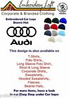 AUDI LOGO EMBROIDERED BEANIE HAT.. 11 COLOURS OF HATS