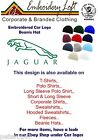 JAGUAR LOGO EMBROIDERED BEANIE HAT.. 11 COLOURS OF HATS