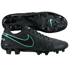 Nike Tiempo Mystic V FG Soccer SHOES 2016 Brand New Black / Turquoise