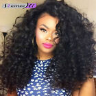"""12""""-22"""" Brazilian Curly 100% Remy Human Hair Lace Front /Full Lace Wig"""
